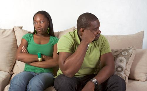 Black Couple Arguing