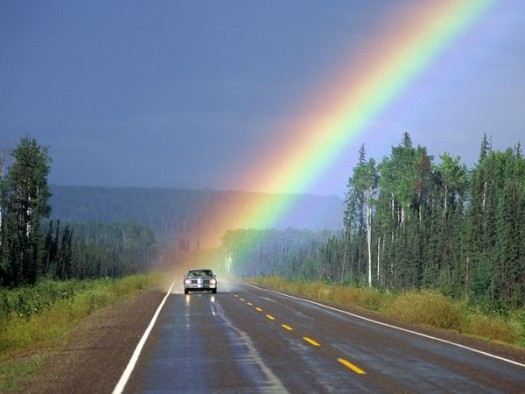 Always Challenge The Rainbow To Keep Its Promise To You For A Better Life!