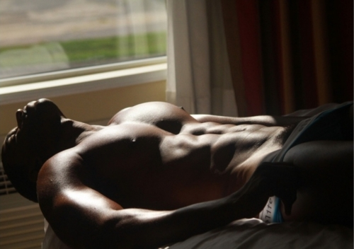 Aroused Black Man