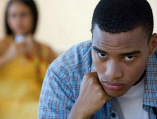 Black Woman Nagging Her Man