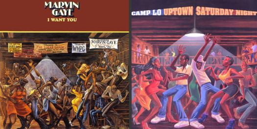 Ernie Barne's Sugar Shack Marvin Gaye Album Cover