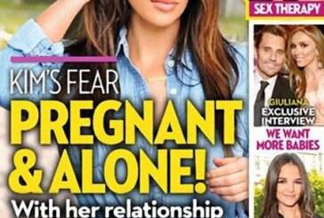 Community Orifice & Public Sperm Receptacle Kim Kardashian Pregnant & Alone?