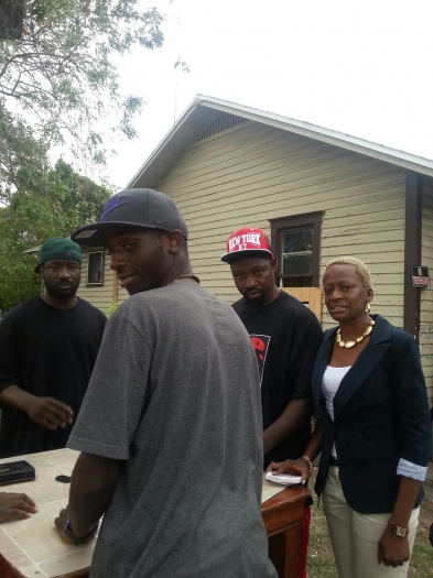 LanceScurv TV - District 5 City Commissioner Candidate Regina Hill Speaks To The Residents Of The Parramore Area