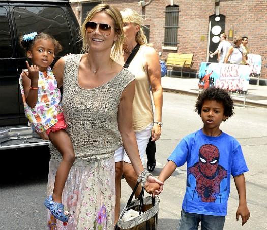 Heidi-Klum-and-kids