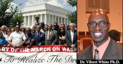 Dr. Vibert White Ph.D. Speaks On The Recent March On Washington - The LanceScurv Show