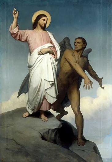 Satan Tempts Jesus Christ
