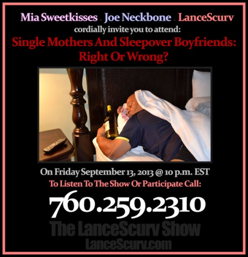 Single Mothers Sleepover Boyfriends 600 pixels