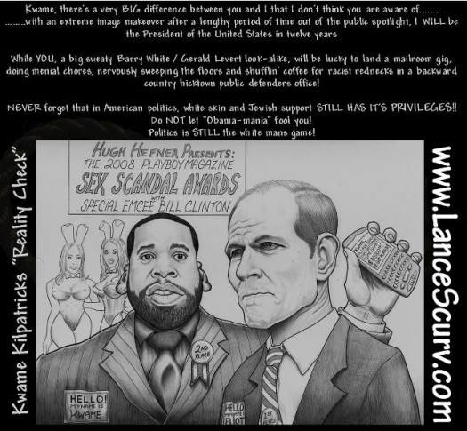 Kwame Kilpatrick Cartoon
