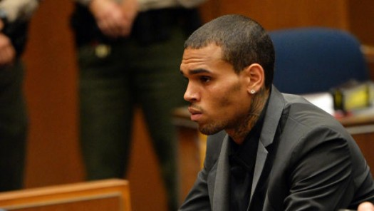 Chris Brown Arrested