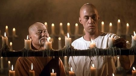 David Carradine in Kung Fu TV series