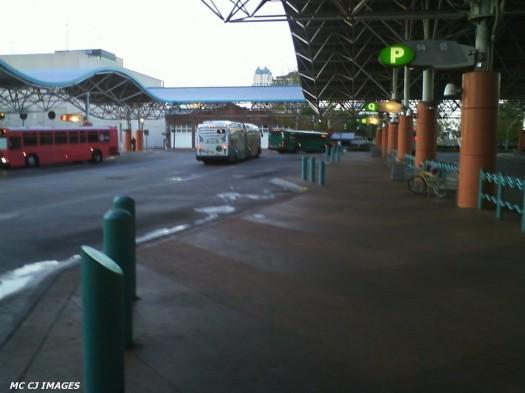 Downtown Lynx Bus Terminal In Orlando Florida