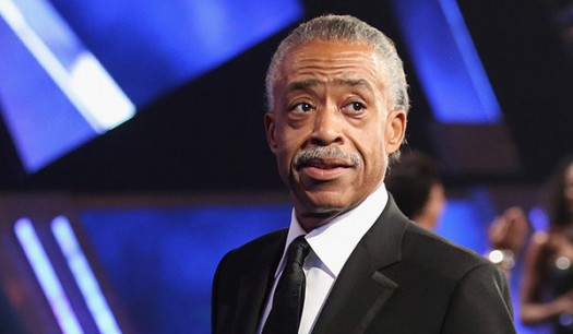 Sharpton Blue Background