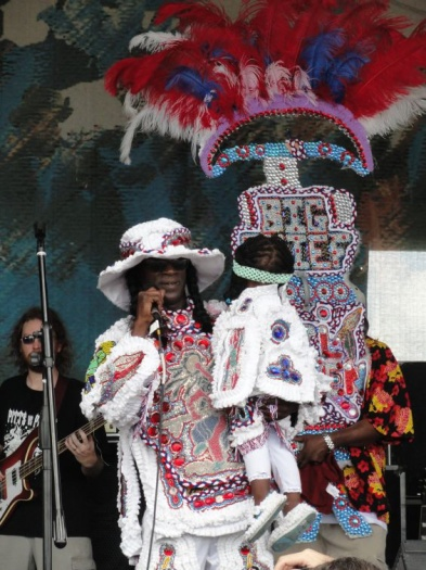 Black Eagles Mardi Gras Indians