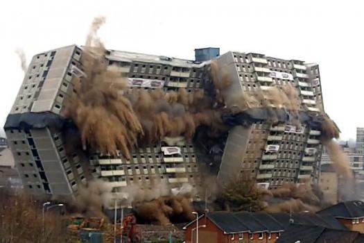 Glencairn Tower Demolition