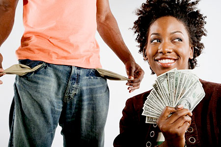 How Long Should A Woman Help A Man Before He Gets On His Feet Financially? - The LanceScurv Show