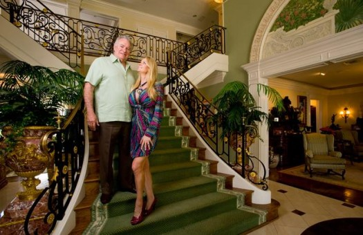 David Siegal, CEO of Orlando-based Westgate Resorts & Wife Jackie
