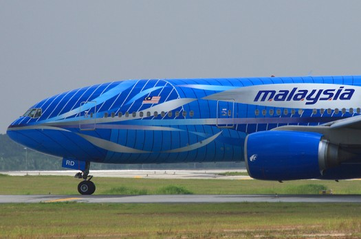 Malayisan-Airlines-cockpit-taxi-airport