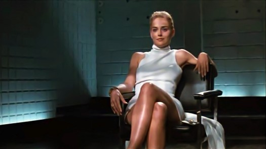 Sharon Stone Leg Crossover