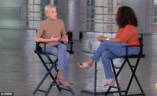 Sharon Stone & Oprah