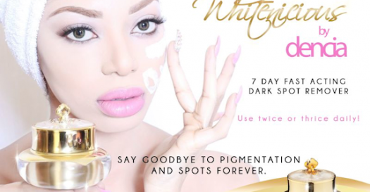 LanceScurv's Thoughts On Pop Star Dencia's New Skin Lightening Product