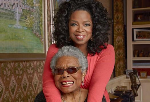 Maya Angelou & Oprah Winfrey