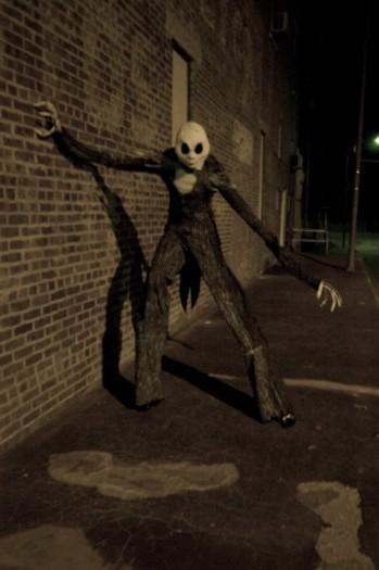 Creature In Dark Alley Way - Life Force