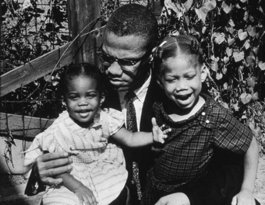 Malcolm X & Daughters - Father