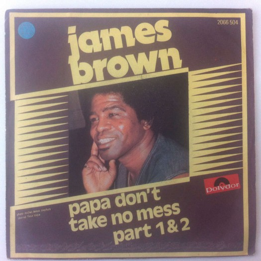 James Brown - Papa Don't Take No Mess - Jame Evans
