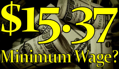 Proof The Minimum Wage Is Supposed To Be $15.37! - The LanceScurv Show