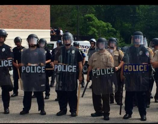 Ferguson Missouri Police