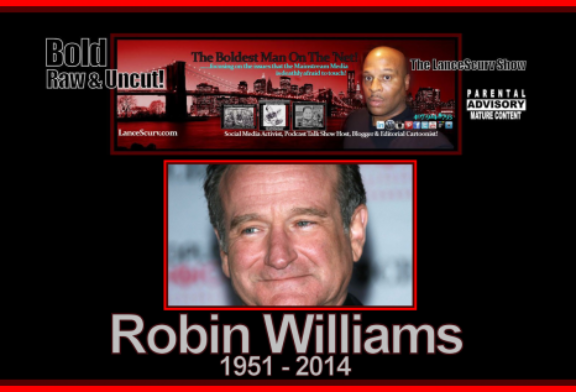 Robin Williams RIP: Days In Laughter, Nights In Depression