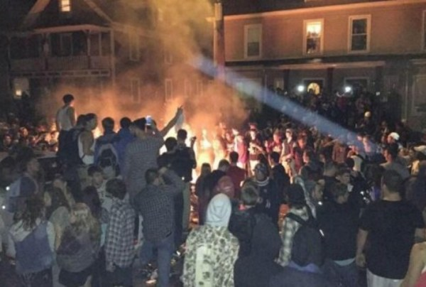 New Hampshire's Keene Pumpkin Festival Rioters: Why Doesn't The Media Call Them Thugs?