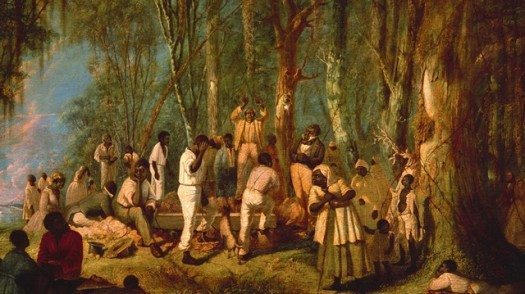 Plantation Burial - Christianity