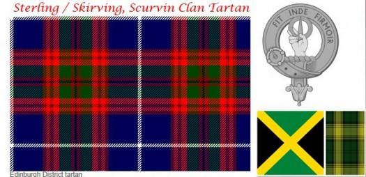 Scurvin Clan Tartan