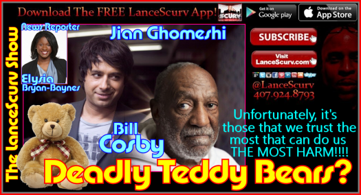 Jian Ghomeshi & Bill Cosby: Deadly Teddy Bears? - The LanceScurv Show