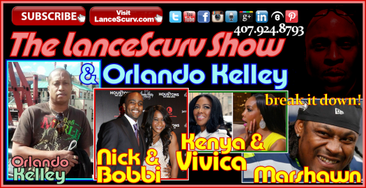 Bobbi Kristina's Fake Marriage, Vivica & Kenya Battle & The Marshawn Lynch Superbowl Controversy! - The LanceScurv Show