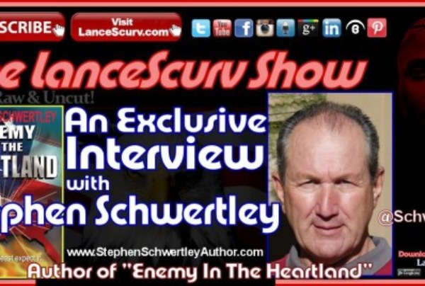 "An Interview with Stephen Schwertley: Author of ""Enemy In The Heartland"""
