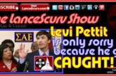 SAE Racist Frat Boy Levi Pettit Only Apologized Because He Got Caught!