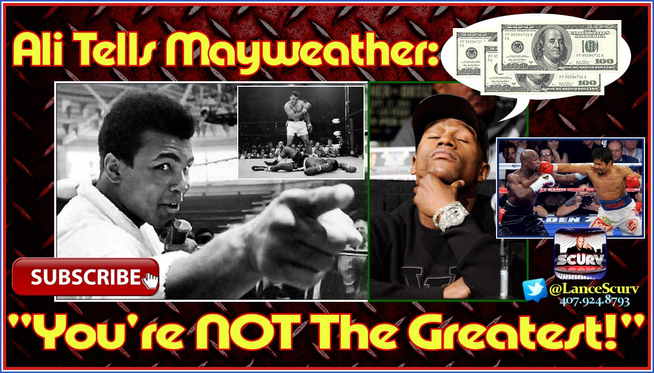 Muhammad Ali Tells Floyd Mayweather: