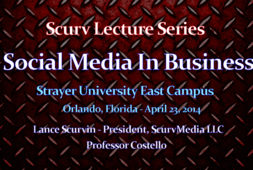 Approach To Social Media In Business (Part 2) – The LanceScurv Lecture Series