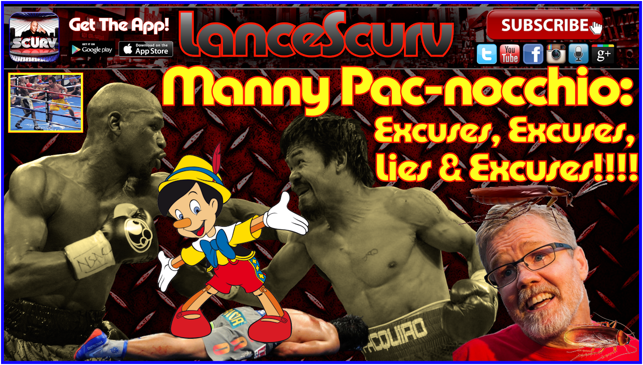 Manny Pacquiao's Shoulder Injury Claim Is Just One Big Excuse! - The LanceScurv Show