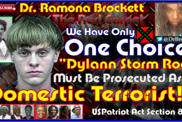 Charleston Massacre Killer Dylann Storm Roof Must Be Prosecuted As A Domestic Terrorist!