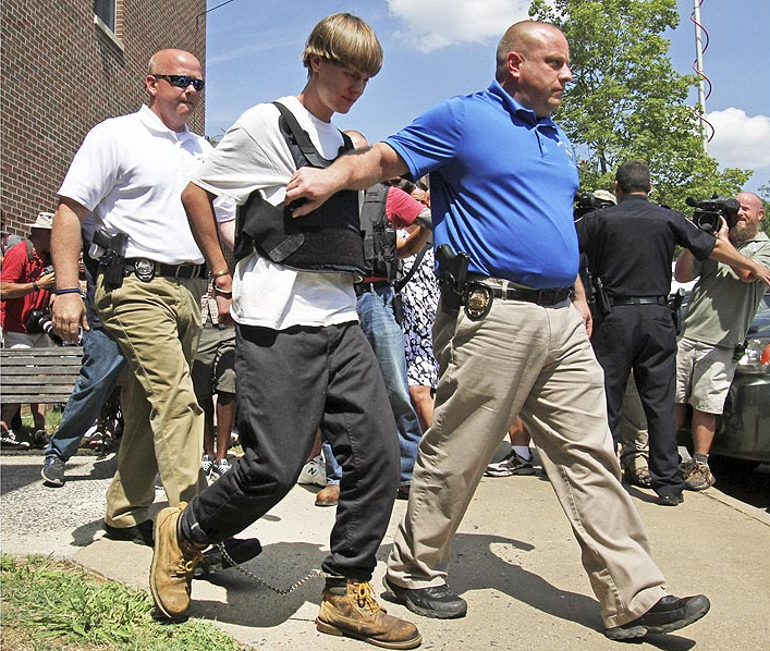 Dylann Roof Arrested