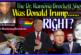 Was Donald Trump Right? – The Dr. Ramona Brockett Show