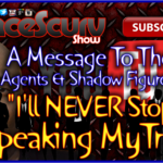To Whom It May Concern: I'll Never Stop Speaking My Truth! – The LanceScurv Show