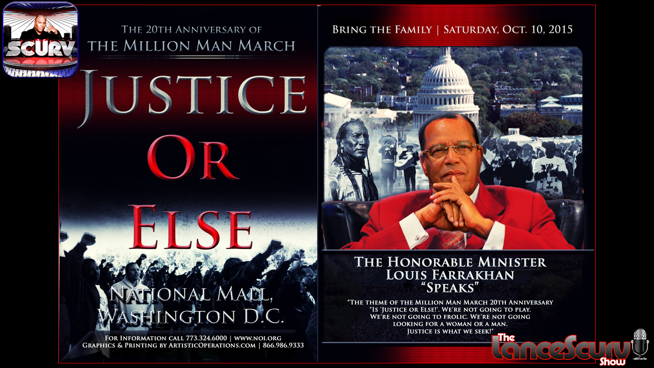 The Million Man March Live Uncensored Discussion - The LanceScurv Show
