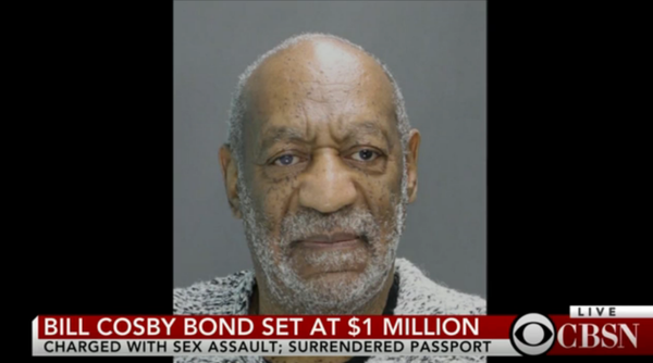 Bill Cosby's Mug Shot
