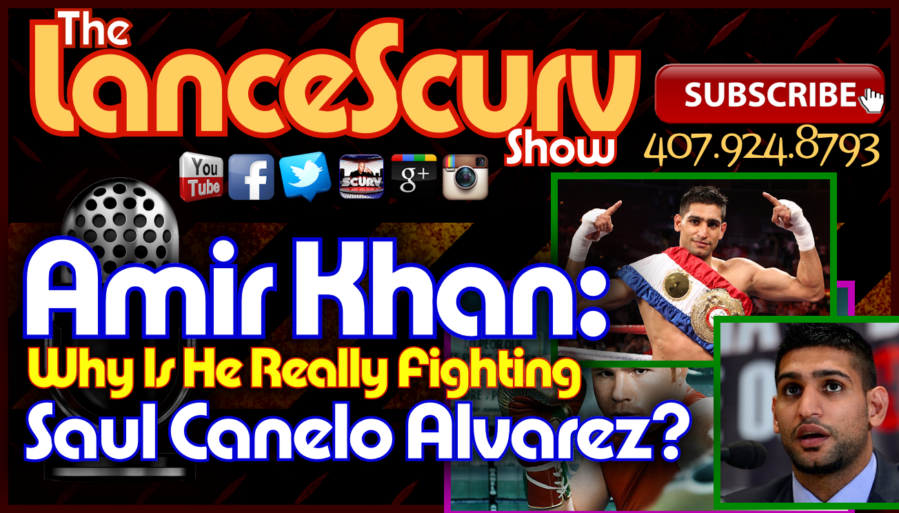 Amir Khan: Why Is He Really Fighting Saul