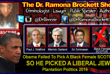 Obama Failed To Pick A Black Female SCOTUS, So He Picked A Liberal Jew!