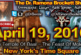 April 19, 2016: The Temple Of Baal At New York's Time Square – The Dr. Ramona Brockett Show
